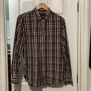 French connection button down shirt